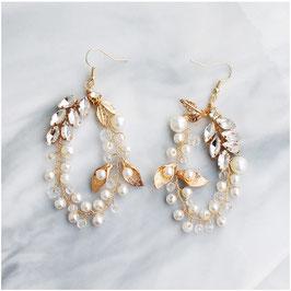 Ohrringe Perlen Strass N5284