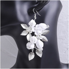 Ohrringe Blumen Perlen N5280