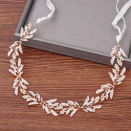 Haarband Gold Haarschmuck Braut Haarschmuck Hochzeit N2351 Haarschmuck Gold Strass