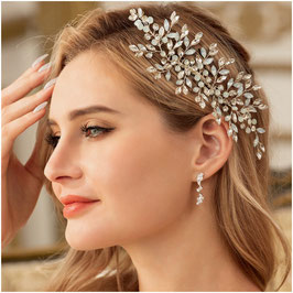 Haarschmuck Braut Haarkamm Silber Perlen Strass Haarschmuck Silber N30225 Brautschmuck Strass Silber Kopfschmuck Braut Haarschmuck Hochzeit