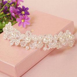 Haarband Braut Haarband Hochzeit Haarschmuck Perlen Braut Haardraht Perlen N20019 Haarschmuck Perlen