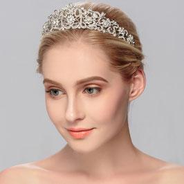 Haarschmuck Hochzeit Diadem Silber Diadem Braut N10042 Haarschmuck Braut