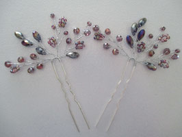Haarnadeln Hochzeit Haarschmuck Braut Haarnadeln Perlen Haarschmuck Hochzeit (Set 2 Stück) N6504