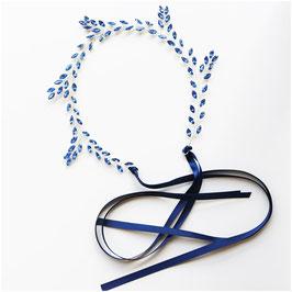Haarband Blau Haarschmuck Braut Haarschmuck Hochzeit N23114