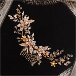 Haarschmuck Braut Haarkamm Hochzeit N33089 Haarkamm Gold Haarschmuck Hochzeit