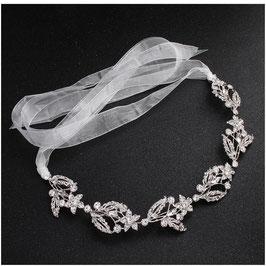 Haarband Silber Strass Haarschmuck Braut Kopfschmuck Haarschmuck Hochzeit N2301