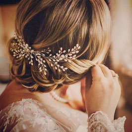 Haarkamm Hochzeit Haarschmuck Braut Brautschmuck Perlen N30025