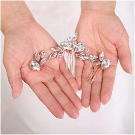 Haarschmuck Set 3 Stk. Haarschmuck Rosegold Strass Haarschmuck Braut Haarschmuck Hochzeit N3703