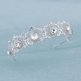 Haarschmuck Braut Diadem Strass Silber N1501 Haarschmuck Hochzeit