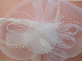 Fascinator Braut Haarschmuck Hochzeit N4451