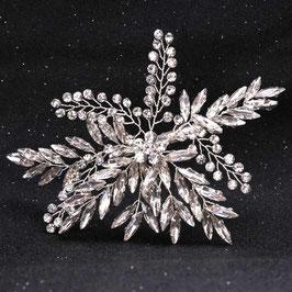 Haarschmuck Braut Haarschmuck Silber Perlen Braut Haarklammer Hochzeit Haarschmuck Strass N40001 Braut Fascinator Strass Silber
