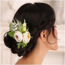 Haarklammer Blumen Haarschmuck Braut Kopfschmuck Hochzeit N4190 Haarschmuck Hochzeit