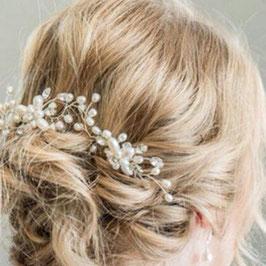 Set 3 Stück Haarnadeln Perlen Haarschmuck Hochzeit N600261