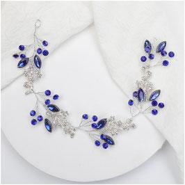 Haarband Perlen Haarschmuck Braut Haarschmuck Hochzeit N22912 Haarschmuck Blau
