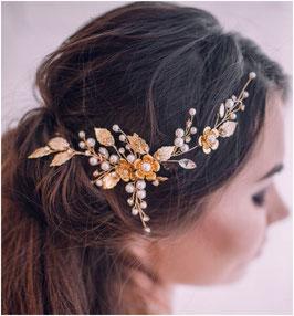 Haarschmuck Braut Haarschmuck Gold N25084 Haarschmuck Hochzeit Haarschmuck Festlich