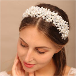 Haarreif Perlen Haarschmuck Hochzeit Haarschmuck Braut Art. N1429