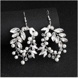 Ohrringe Perlen Strass N5283