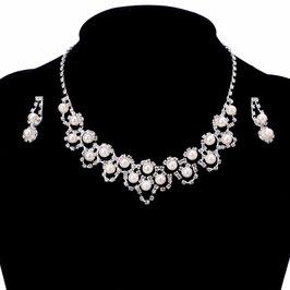 Schmuckset Perlen N55710 Brautschmuck Perlen