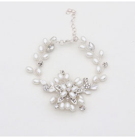 Armband Perlen Strass N5815