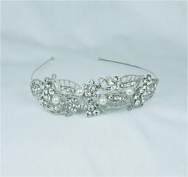 Haarschmuck Braut Diadem Hochzeit Haarschmuck N10010 Brautschmuck Strass Perlen