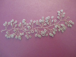 Haardraht Braut Haarband Hochzeit Haarschmuck Perlen N20202