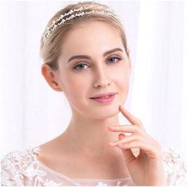Diadem Perlen Silber Haarschmuck Braut Haarschmuck Hochzeit N1884 Diadem Hochzeit