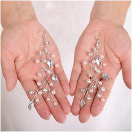 Ohrringe Perlen Strass N5214