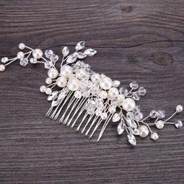 Brautschmuck Haarkamm Hochzeit Haarschmuck Perlen N30033