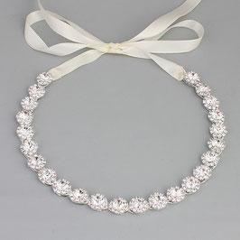 Haarschmuck Braut Haarband Silber Perlen Brautschmuck Silber N20017 Haarschmuck Hochzeit