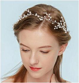 Haardraht-Haarband Perlen N2860 Haarschmuck Braut Haarschmuck Hochzeit