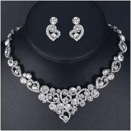 Schmuckset Halskette Ohrringe N58804