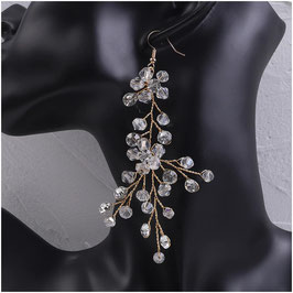 Ohrringe Perlen Strass N5286