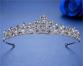 Brautschmuck Diadem Silber Haarschmuck Braut N10271 Diadem Hochzeit