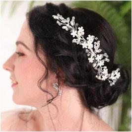 Haarschmuck Braut Haarkamm Braut Haarkamm Perlen Silber Haarschmuck Hochzeit N3803