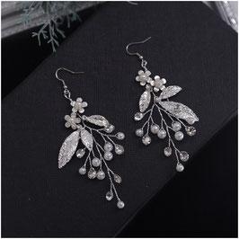 Ohrringe Perlen Strass N5105