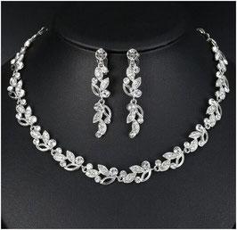 Schmuckset Halskette Ohrringe N58807