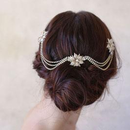 Haarschmuck Vintage Gold Strass Perlen Hochzeit Haarschmuck Festlich N3885 Haarschmuck Braut Haarschmuck Hochzeit Haarschmuck Gold Strass