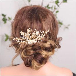 Haarschmuck Braut Haarkamm Braut Haarkamm Perlen Gold Haarschmuck Hochzeit N3881