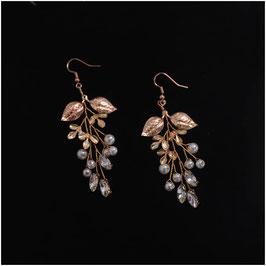 Ohrringe Strass Perlen N5202