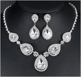 Schmuckset Halskette Ohrringe N58815