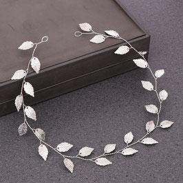 Haarschmuck Braut Haarband Silber Haardraht Silber N2334