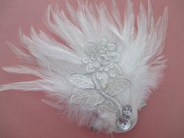 Fascinator Braut Haarschmuck Hochzeit N493 Brautschmuck