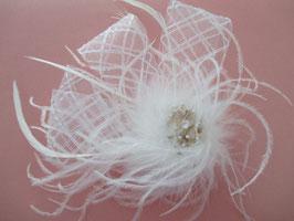 Fascinator Braut Haarschmuck Hochzeit N4454