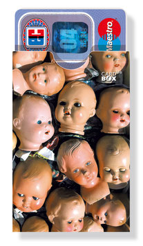 cardbox 115 > Puppenköpfe