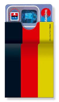 cardbox 121 > Deutschland Flagge