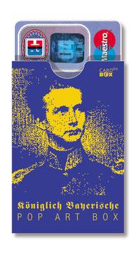 cardbox 043 > König Ludwig popart