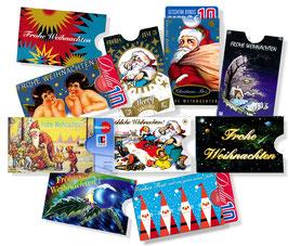 10 cardboxen mit Weihnachtsmotiv + 2 EXTRA