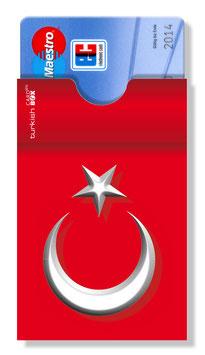 cardbox 010 > Türkei Flagge