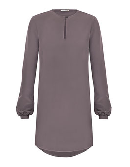 Mathilda Dress | Warm Grey