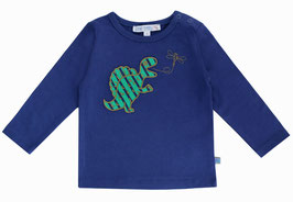 Baby Shirt Dino und Fliege in night, Artikelnr. 188 40 06